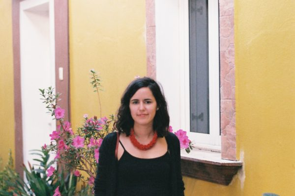 A portrait shot in the patio in our apartment in Oaxaca.